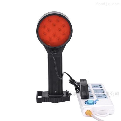 充电式双面警示灯磁力吸附红色爆闪施工作业