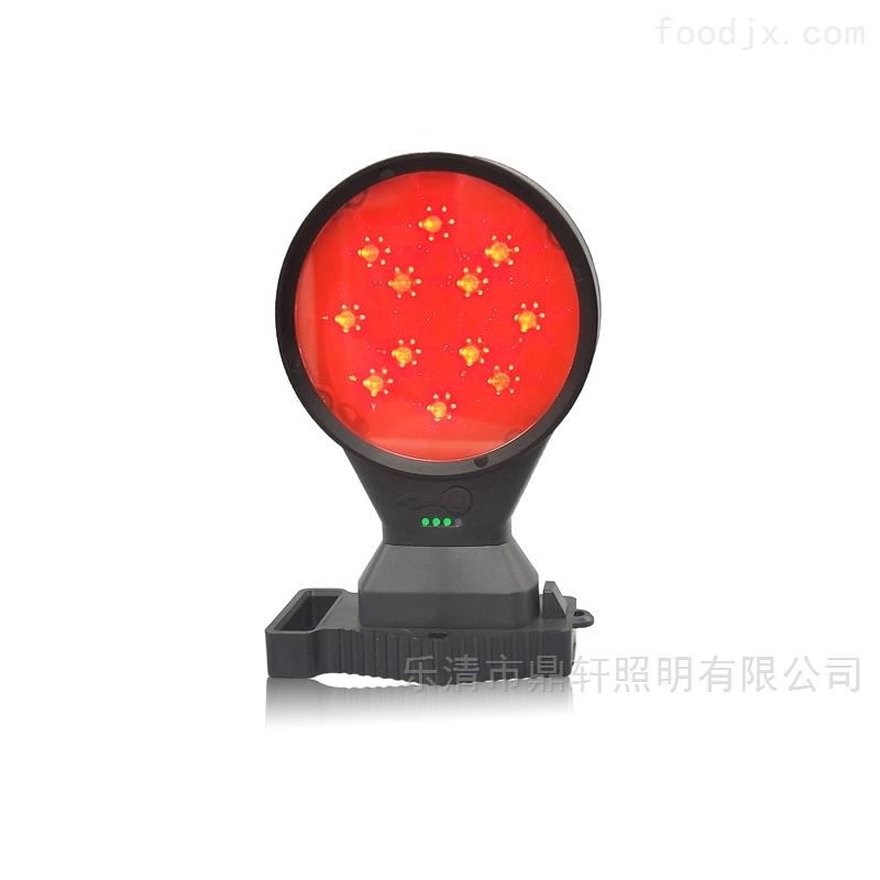 鼎轩照明频闪常亮铁路警示磁吸双面方位灯