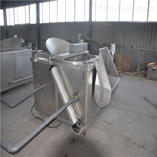 新品小型不锈钢蚕蛹油炸机
