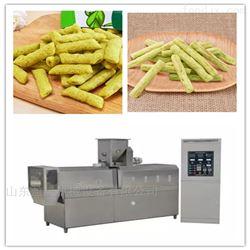 ys65-lll豌豆脆休闲食品全自动流水线挤压膨化机