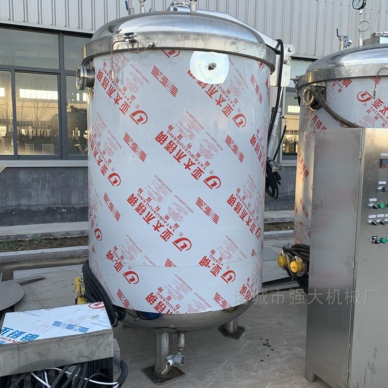 液壓自動開蓋粽子蒸煮鍋