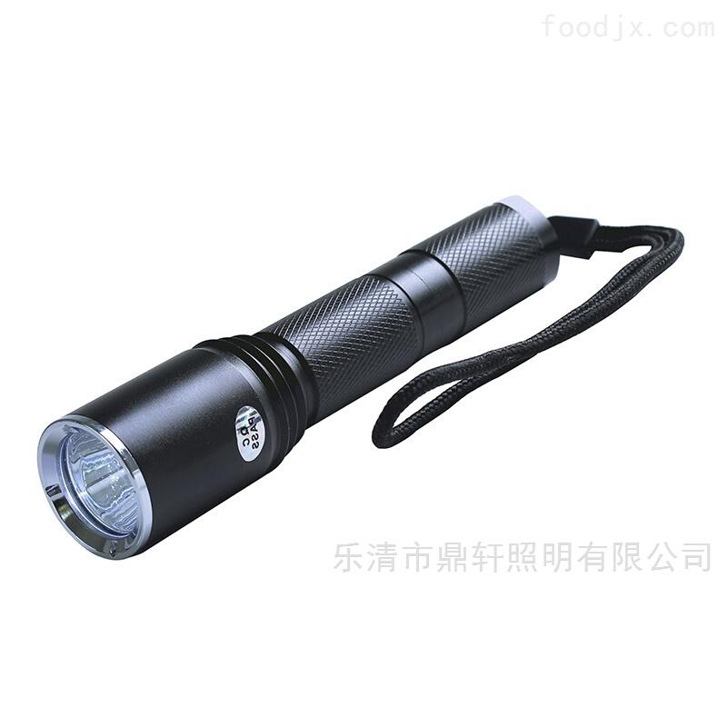 消防员LED佩戴式微型防爆强光电筒
