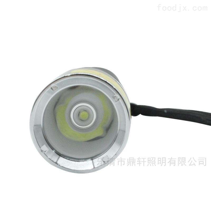 3W微型强光防水LED电筒3.7V电压佩戴式鼎轩