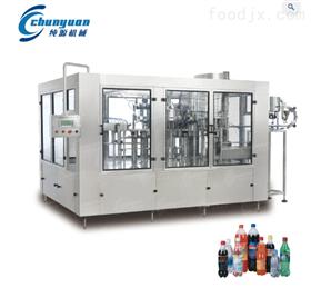 三合一含气碳酸饮料灌装生产线