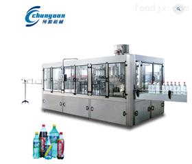 含气碳酸饮料生产设备~三合一灌装生产线