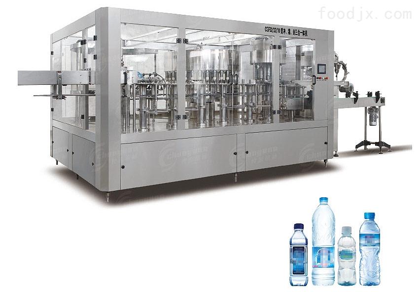 小型瓶装纯净水生产线设备