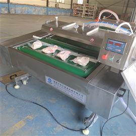 定制白条鸡包装循环输送滚动式真空包装机