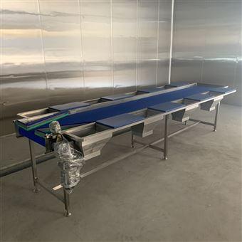 YK-4000净菜加工成套设备人工挑拣输送机