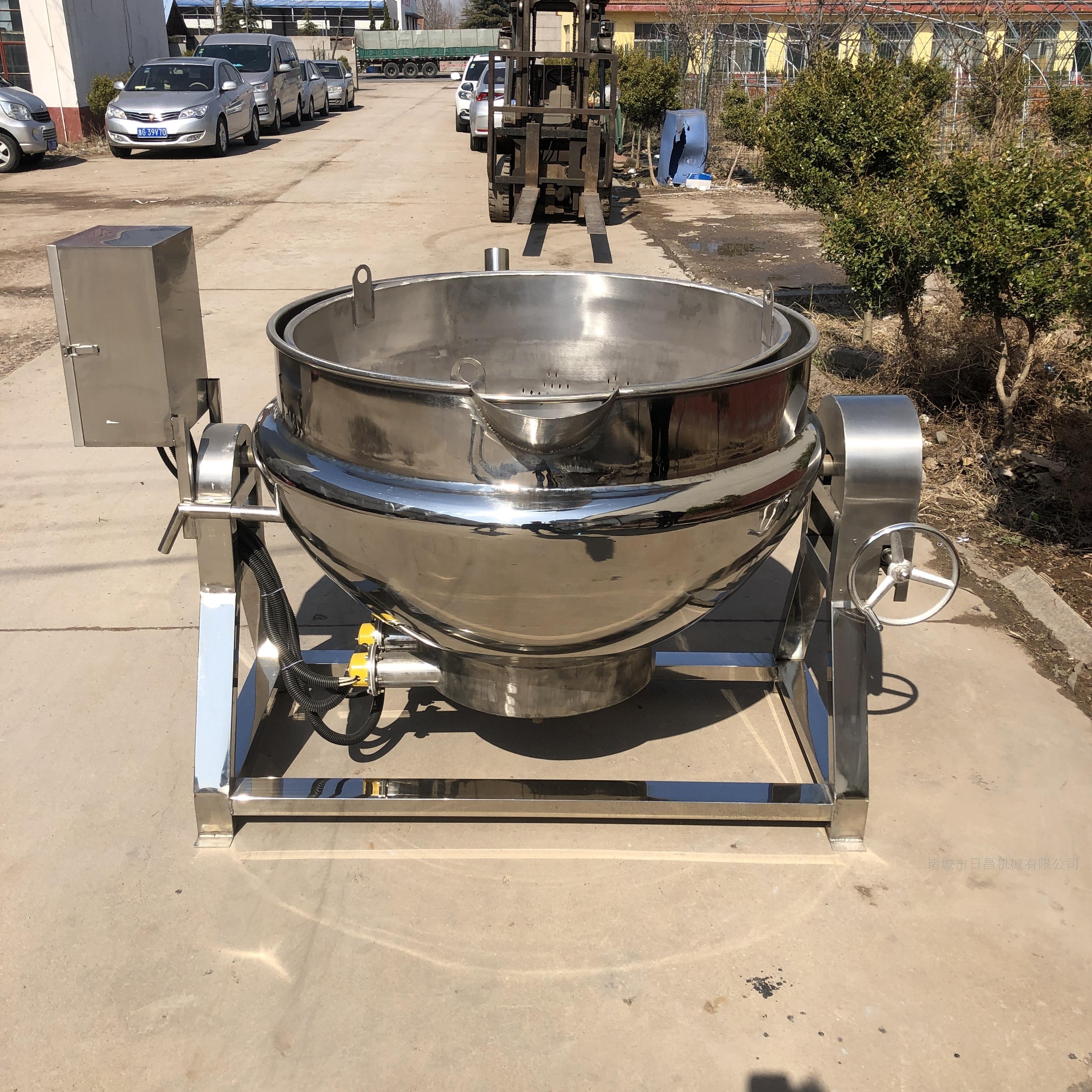 卤肉夹层锅电加热