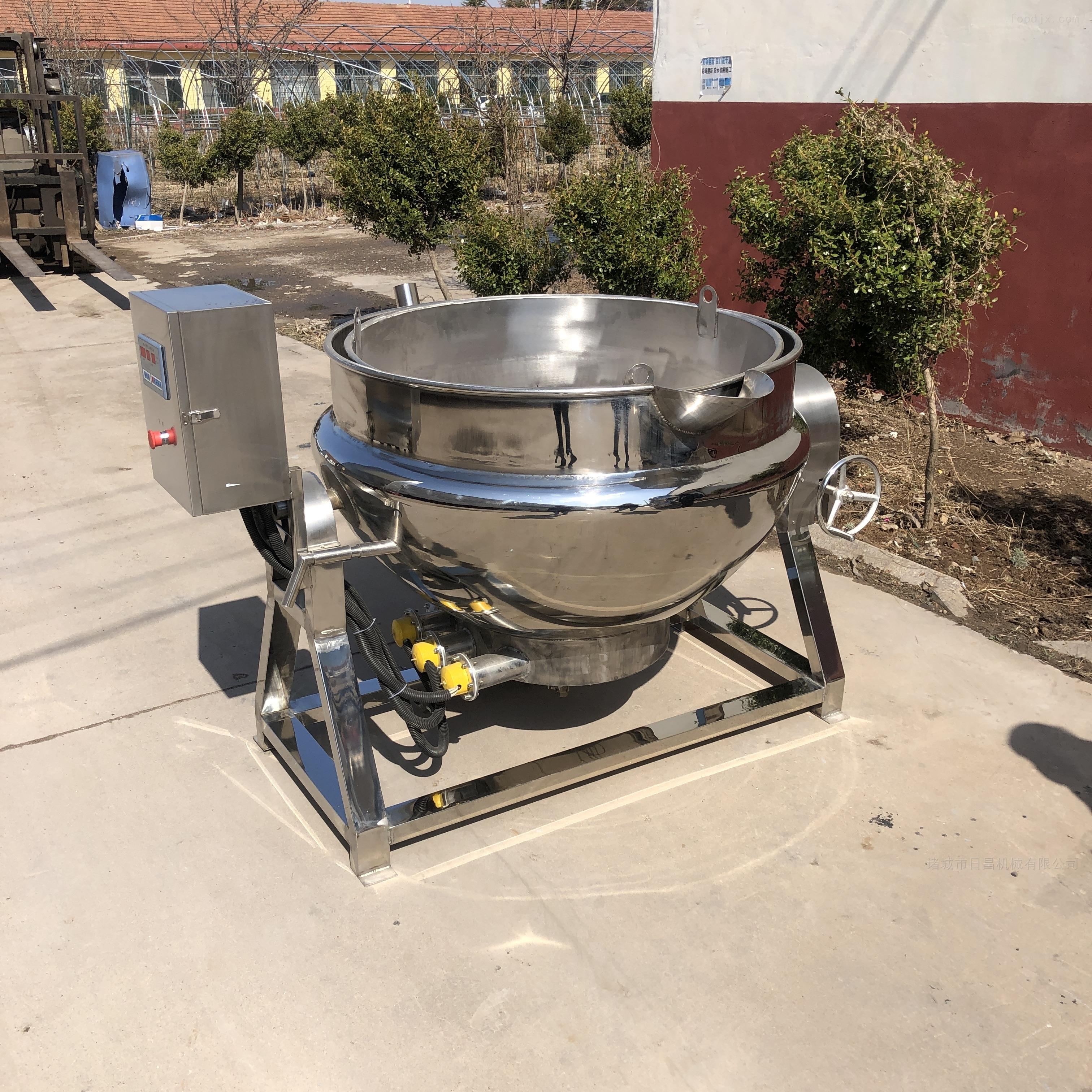 鸡翅鸡爪卤制锅 电加热带搅拌夹层锅