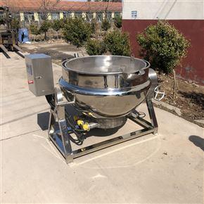 雞翅雞爪鹵制鍋 電加熱帶攪拌夾層鍋