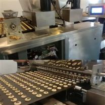 全自动巧克力颗粒曲奇饼生产线 蛋黄饼设备