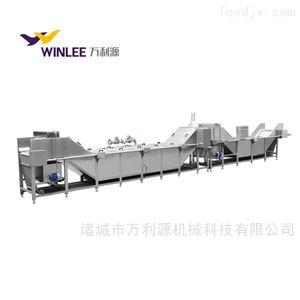 WLYSJ-8000软包装酱菜巴氏杀菌机食品杀菌冷却线