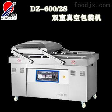 DZ-600/2S双室真空包装机包装肉制品