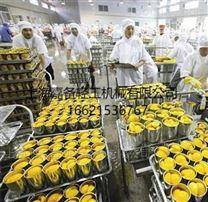上海嘉备黄桃罐头生产线