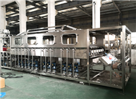 QGF全自动小型五加仑桶装水灌装机生产线