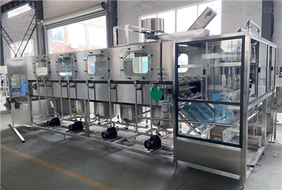 QGF全自动18.9L五加仑大桶水灌装机生产线