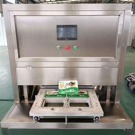 林淑盛传统手工桂花糕点盒式真空气调包装机