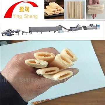 YS70-II清真夹心米果膨化机米果生产线