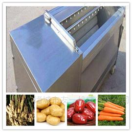 QX-1500小型海鲜全自动毛辊清洗机