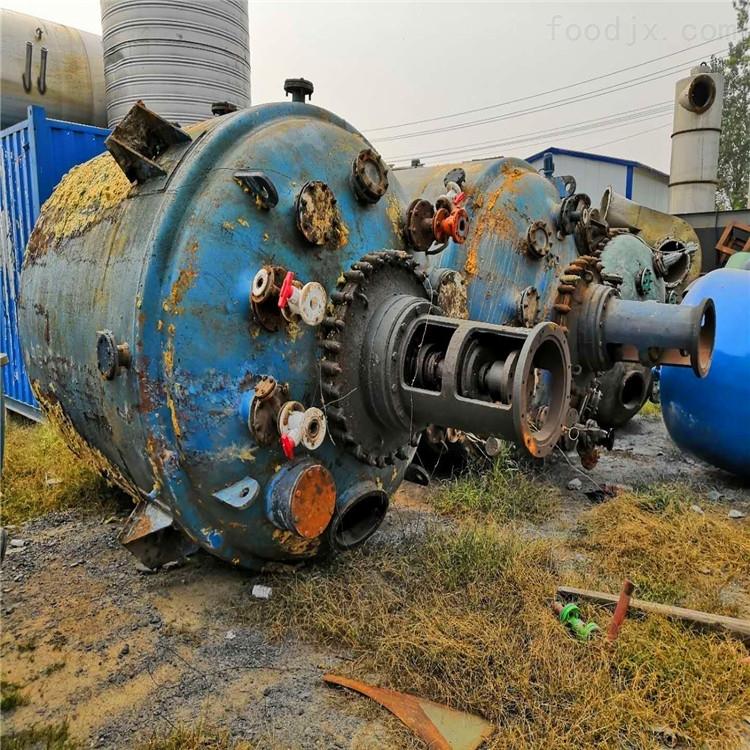 二手30吨搪瓷反应釜
