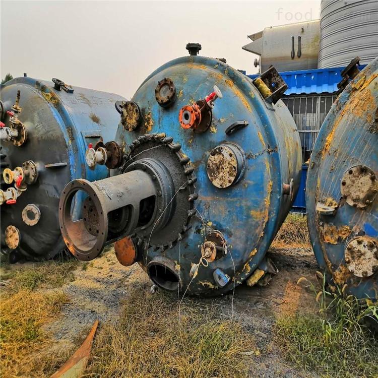二手15吨搪瓷反应釜
