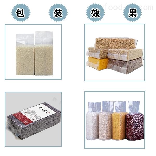 双室下凹真空包装机包装米砖食品
