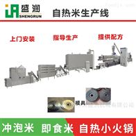 TSE65双螺杆自热重生米生产机器设备