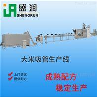 EXT100可食用大米吸管通心粉生产线-单螺杆设备