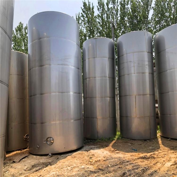 二手60立方不锈钢储罐