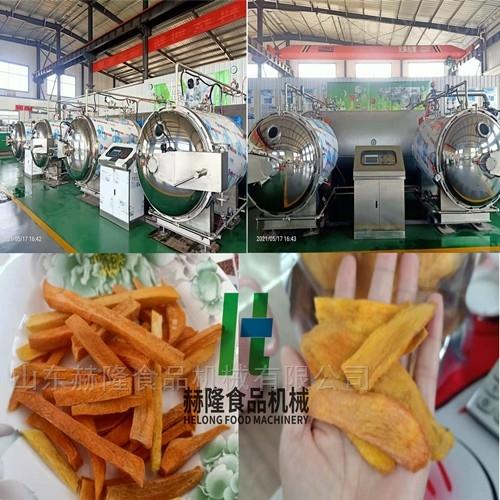 红薯脆片真空干燥设备