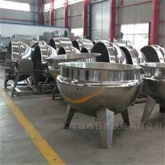 RC500L全自动电炒锅药材熬煮专用锅大型厨房炒菜锅
