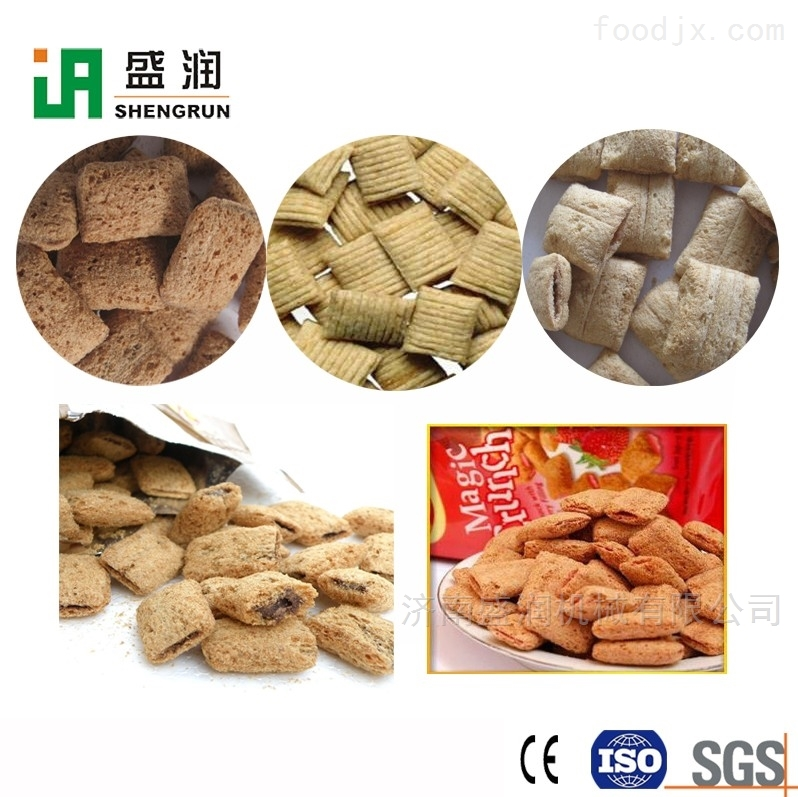 夹心米果生产设备-双螺杆食品机械