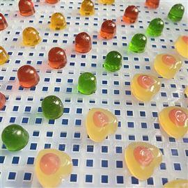 HQ-150~600全自动彩色软糖成型设备 双排夹心软糖机械