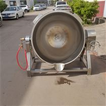 500L全自动电加热燃气加热可倾式夹层锅厂家生产