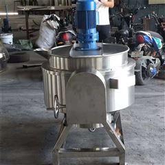 RC500L全自动多功能带搅拌可倾夹层锅熬煮锅