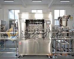 10头1000ml柱塞液体灌装机