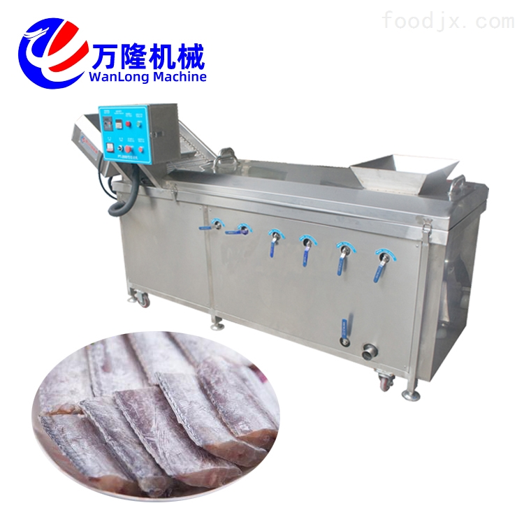 芸豆黄桃全自动供应黄桃罐头连续式漂烫机