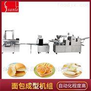 奶香面包生產線