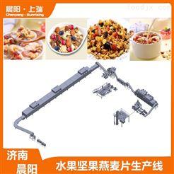 CY62膨化机水果燕麦片食品设备  谷物脆生产线