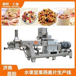 CY62膨化机谷物脆食品设备  水果坚果燕麦片加工机械
