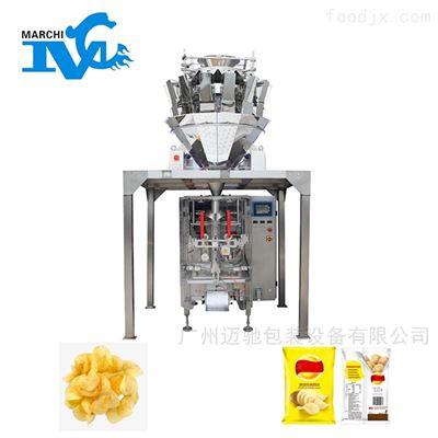休闲食品薯片薯条充氮气保鲜包装机