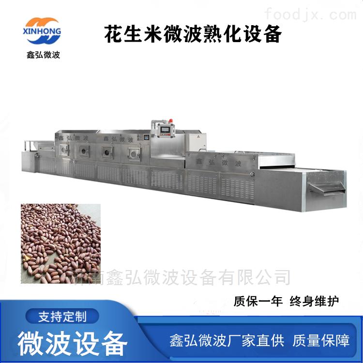 花生米微波低温烘培设备 干果烘烤杀菌设备