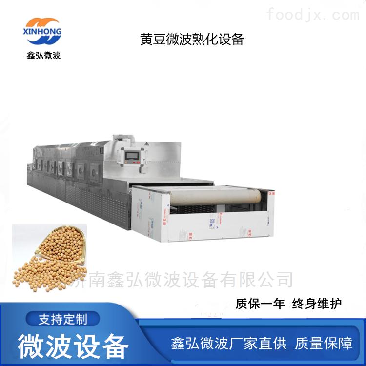 黄豆微波烘干设备 五谷杂粮微波熟化设备