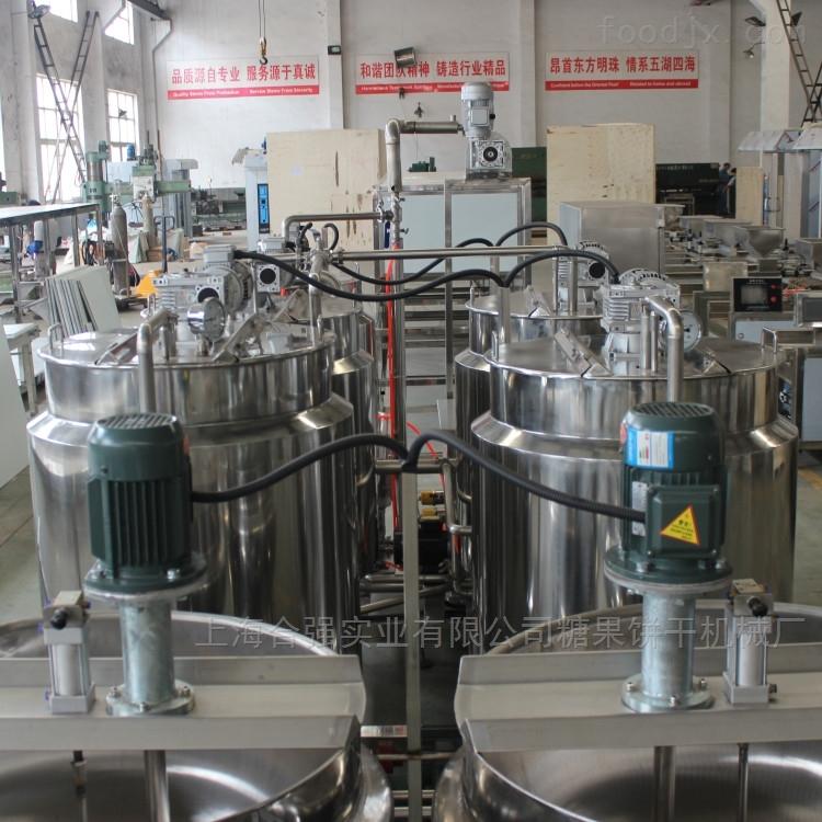 软糖机 软糖生产线实地工厂