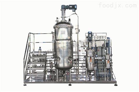 KRH-BPJ100L-1000L二级机械搅拌不锈钢发酵罐(