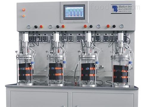 4联离位灭菌玻璃发酵罐