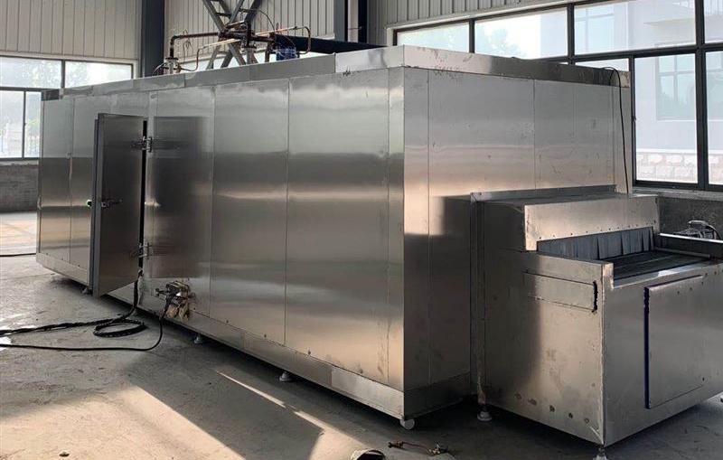 液态化速冻机在技术上有哪些杰出表现?