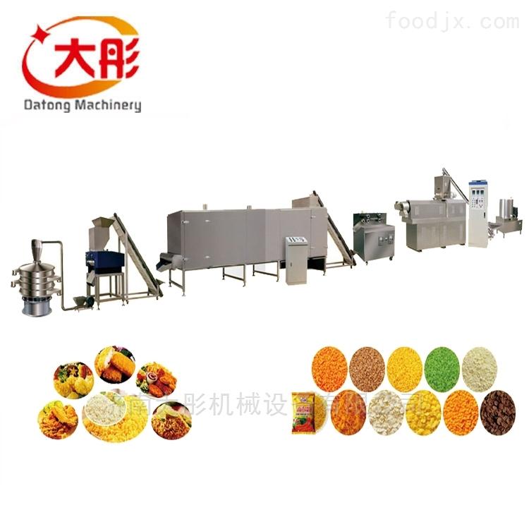 面包糠生产线整套设备操作流程