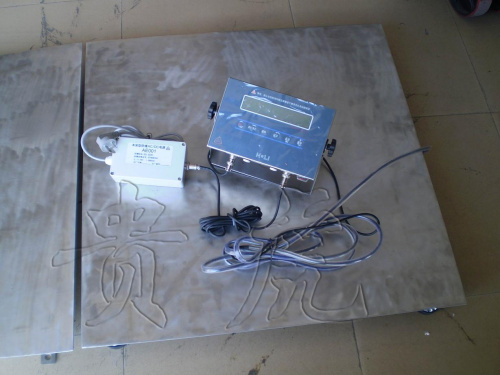 上海防爆电子秤,防暴平台秤2吨